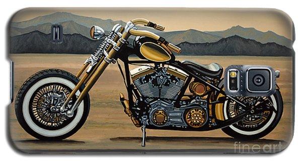 Motorcycle Galaxy S5 Case - Harley Davidson by Paul Meijering