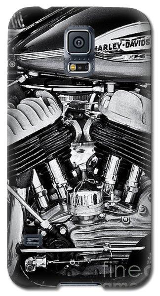 Harley Davidson Wla Monochrome Galaxy S5 Case