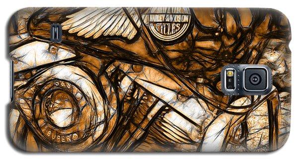 Harley Shovelhead Galaxy S5 Case by Michael Spano