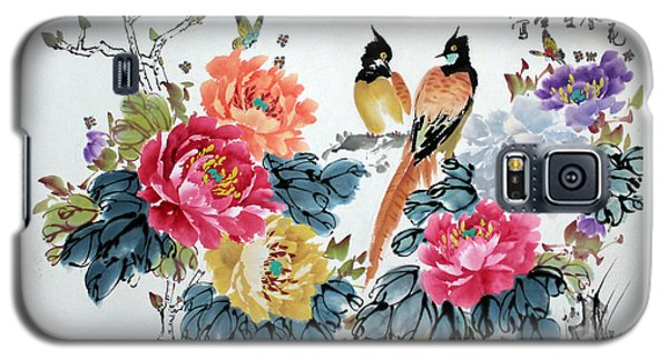 Harmony And Lasting Spring Galaxy S5 Case by Yufeng Wang