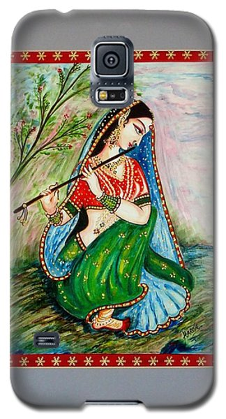 Galaxy S5 Case featuring the painting Harmony by Harsh Malik