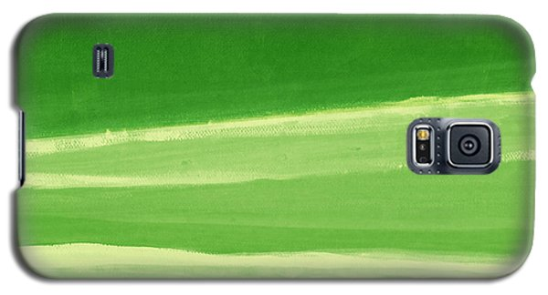Harmony In Green Galaxy S5 Case by Linda Woods