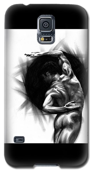 Galaxy S5 Case featuring the drawing Harmony by Paul Davenport