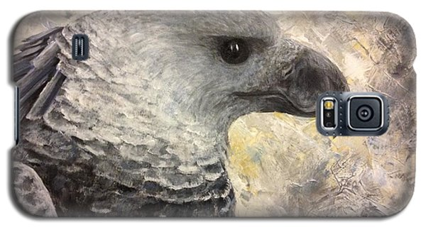 Harpy Eagle Study In Acrylic Galaxy S5 Case
