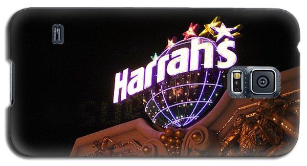 Harrahs Sign Las Vegas Nevada Galaxy S5 Case