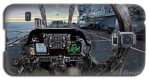 Harrier Cockpit Galaxy S5 Case by Paul Fearn