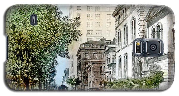 Harrison Residence East Rittenhouse Square Philadelphia C 1890 Galaxy S5 Case by A Gurmankin