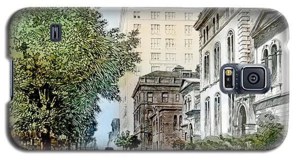 Harrison Residence East Rittenhouse Square Philadelphia C 1890 Galaxy S5 Case