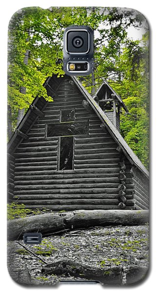Hartwick Pines Chapel Bwg Galaxy S5 Case