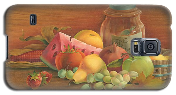 Galaxy S5 Case featuring the painting Harvest Fruit by Doreta Y Boyd