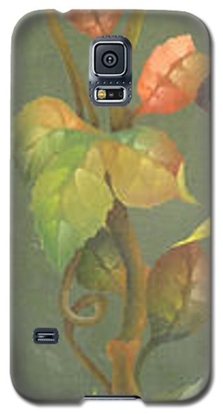 Galaxy S5 Case featuring the painting Harvest Grapevine by Doreta Y Boyd