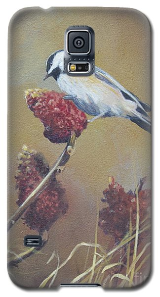 Galaxy S5 Case featuring the painting Harvest  by Margit Sampogna