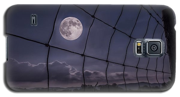 Galaxy S5 Case featuring the photograph Harvest Moon by Jaki Miller