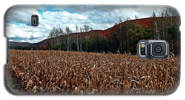 Galaxy S5 Case featuring the photograph Harvest Sky by Christian Mattison