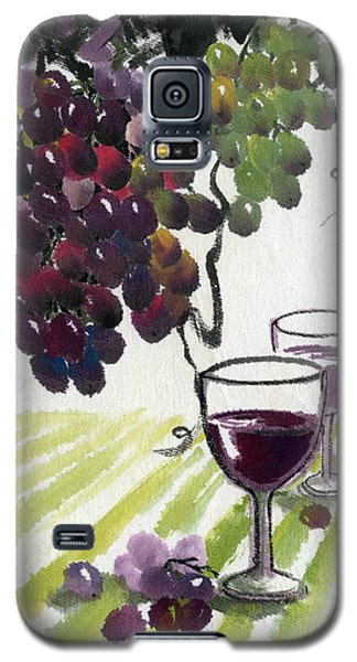 Galaxy S5 Case featuring the painting Harvest Time by Ping Yan
