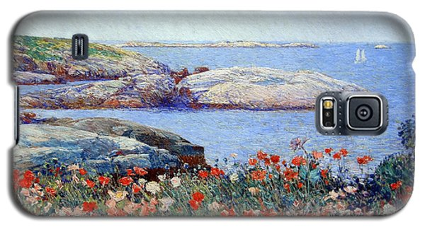 Hassam's Poppies On The Isles Of Shoals Galaxy S5 Case