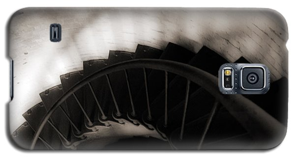 Galaxy S5 Case featuring the photograph Hatteras Staircase by Angela DeFrias