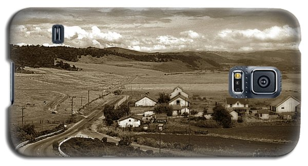 Hatton Ranch Carmel Valley From Highway One California  1940 Galaxy S5 Case