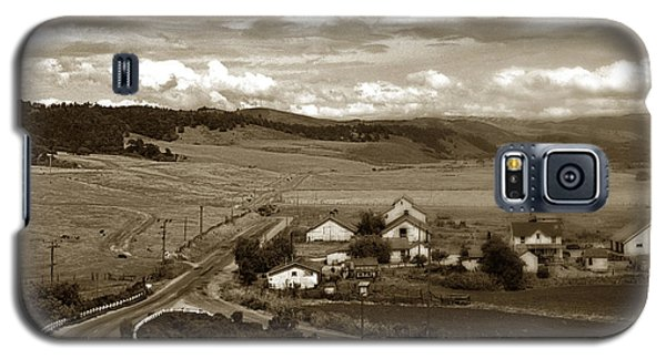 Hatton Ranch Carmel Valley From Highway One California  1945 Galaxy S5 Case