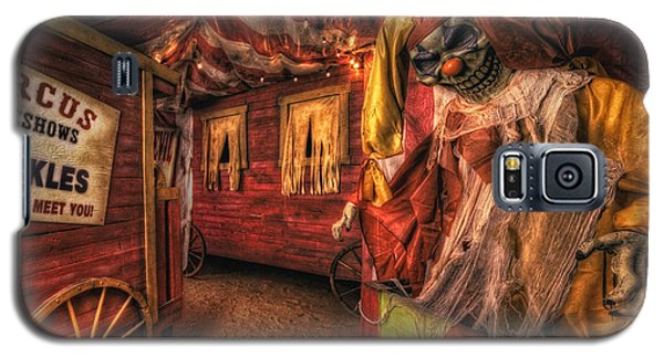 Haunted Circus Galaxy S5 Case