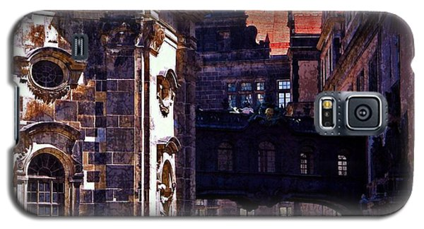 Galaxy S5 Case featuring the photograph Hausmann Tower In Dresden Germany by Jordan Blackstone