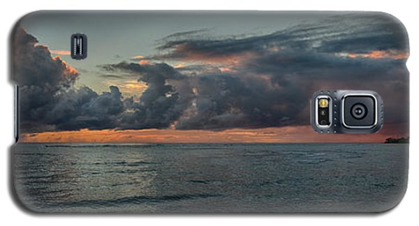 Hauula Sunrise Panorama Galaxy S5 Case