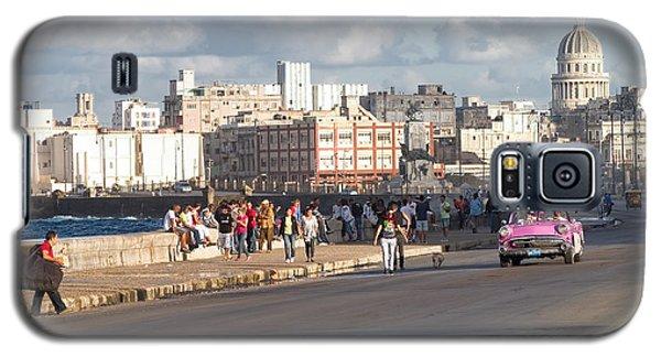 Havanna - Malecon Galaxy S5 Case by Juergen Klust