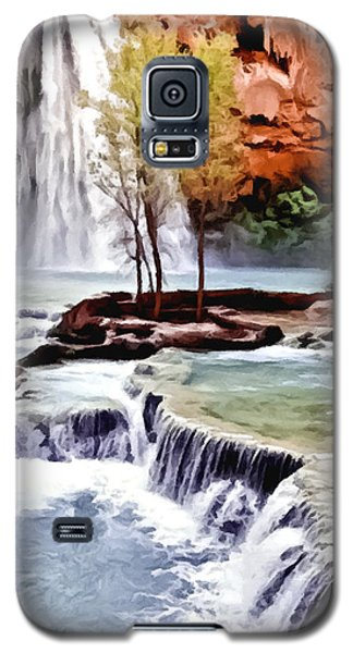 Havasau Falls Painting Galaxy S5 Case