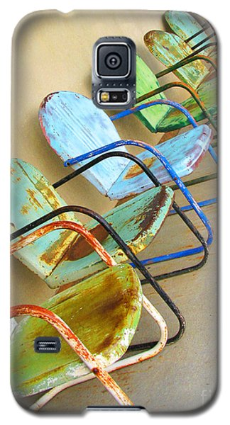 Have A Seat Rusty Chairs Galaxy S5 Case