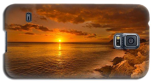 Hawaii Golden Sunset Galaxy S5 Case