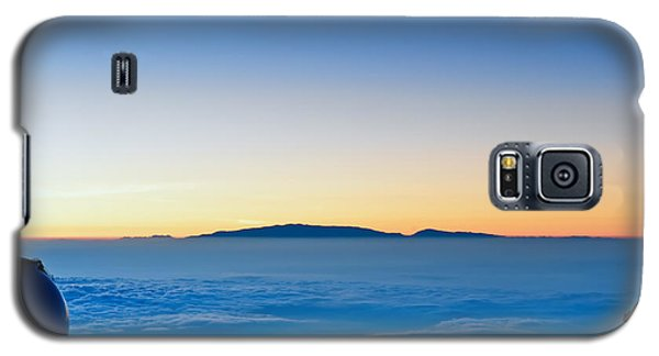 Galaxy S5 Case featuring the photograph Hawaii Sunset by Jim Thompson