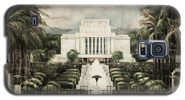 Hawaii Temple Laie Antique Galaxy S5 Case