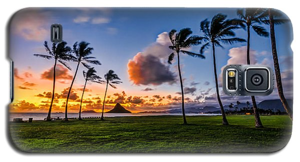 Chainaman Hat Hawaii Galaxy S5 Case by RC Pics