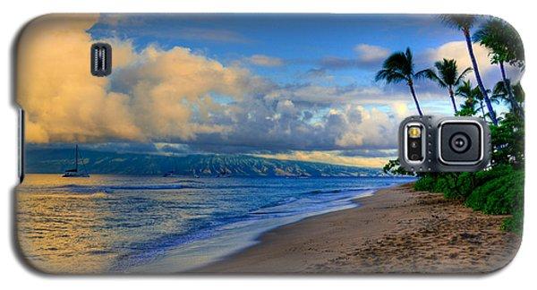 Hawaiian Island Sunrise Galaxy S5 Case