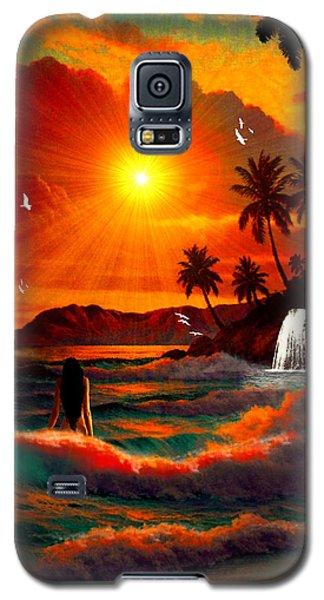 Hawaiian Islands Galaxy S5 Case