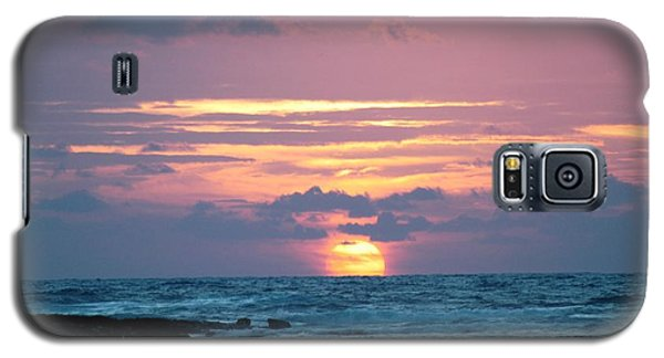 Galaxy S5 Case featuring the photograph Hawaiian Ocean Sunrise by Lehua Pekelo-Stearns