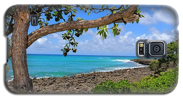 Galaxy S5 Case featuring the photograph Hawaiian Paradise by Kristine Merc
