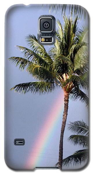 Hawaiian Rainbow Galaxy S5 Case by Karen Nicholson