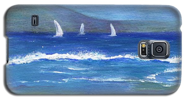 Galaxy S5 Case featuring the painting Hawaiian Sail by Jamie Frier