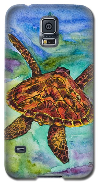 Hawaiian Sea Turtle Galaxy S5 Case