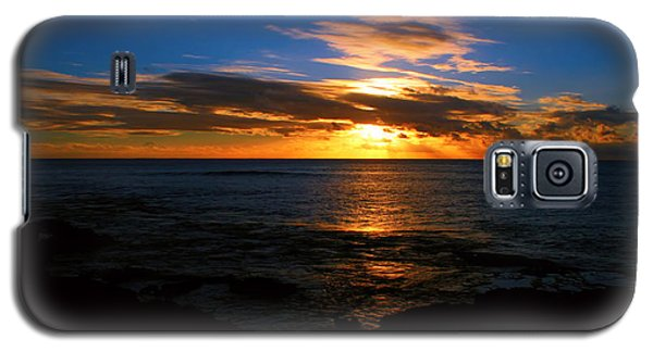 Hawaiian Sunset Galaxy S5 Case by Kara  Stewart