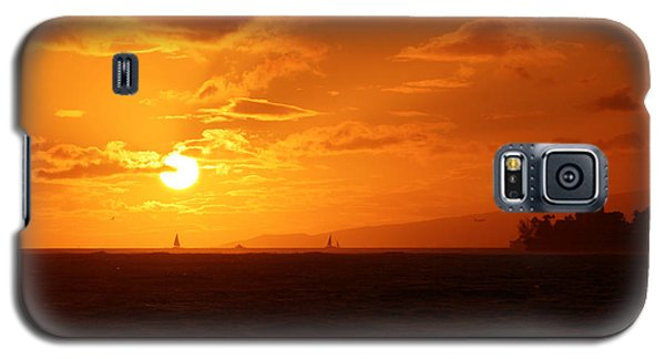 Hawaiian Sunset Galaxy S5 Case by Mary Mikawoz