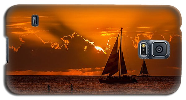 Galaxy S5 Case featuring the photograph Hawaiian Sunset by RC Pics
