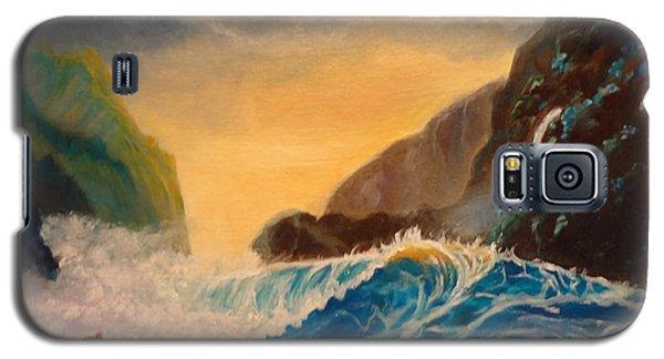 Hawaiian Turquoise Sunset   Copyright Galaxy S5 Case