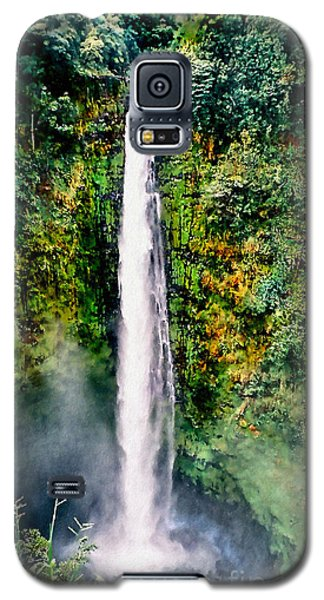 Hawaiian Waterfall Galaxy S5 Case