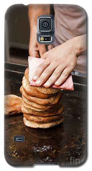 Galaxy S5 Case featuring the photograph Hawawshi Sandwich  by Mohamed Elkhamisy