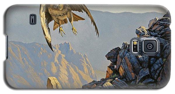 Hawk Galaxy S5 Case - Hawk Above Beartooth Pass by Paul Krapf