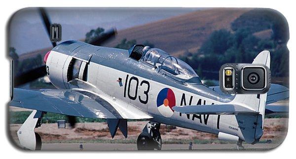 Hawker Sea Fury Nx51sf Taxiing Camarillo August 23 2003 Galaxy S5 Case