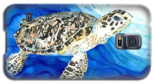 Hawksbill Sea Turtle 2 Galaxy S5 Case