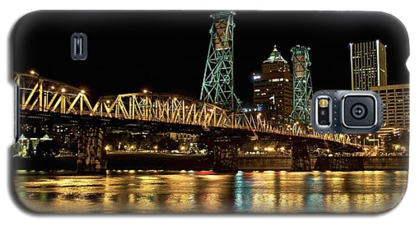 Hawthorne Bridge Over Willamette River Galaxy S5 Case